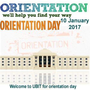 Orientation Day 10 Jan 2017